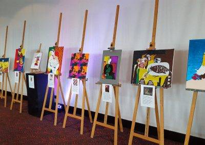 Exhibition Taktila reproductions during 100 plus day 2018