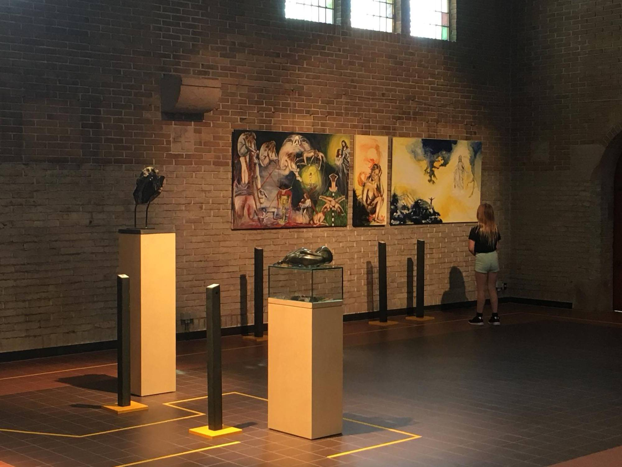 Diapresentation Expo First see then believe, Mariëngaarde 2019