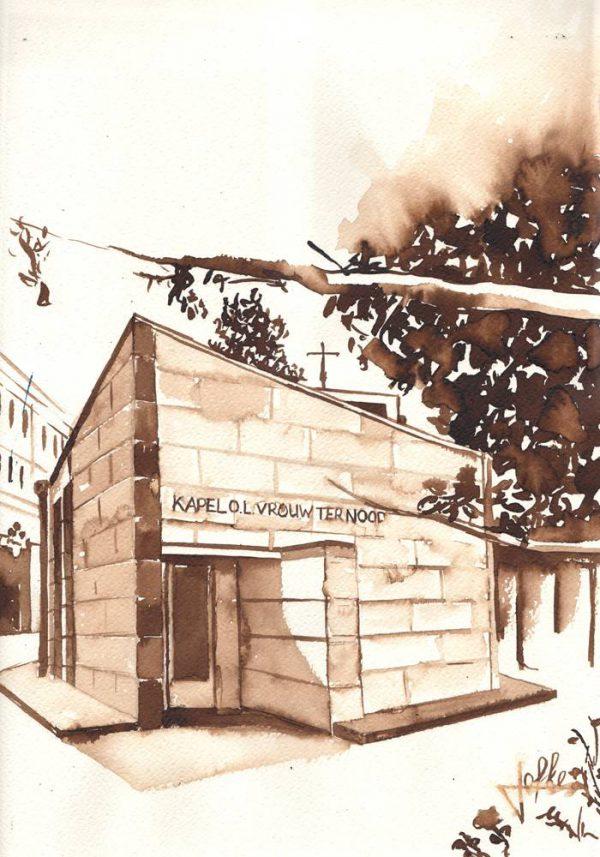 Illustration Our dear lady chapel, Kapelhof by Jofke