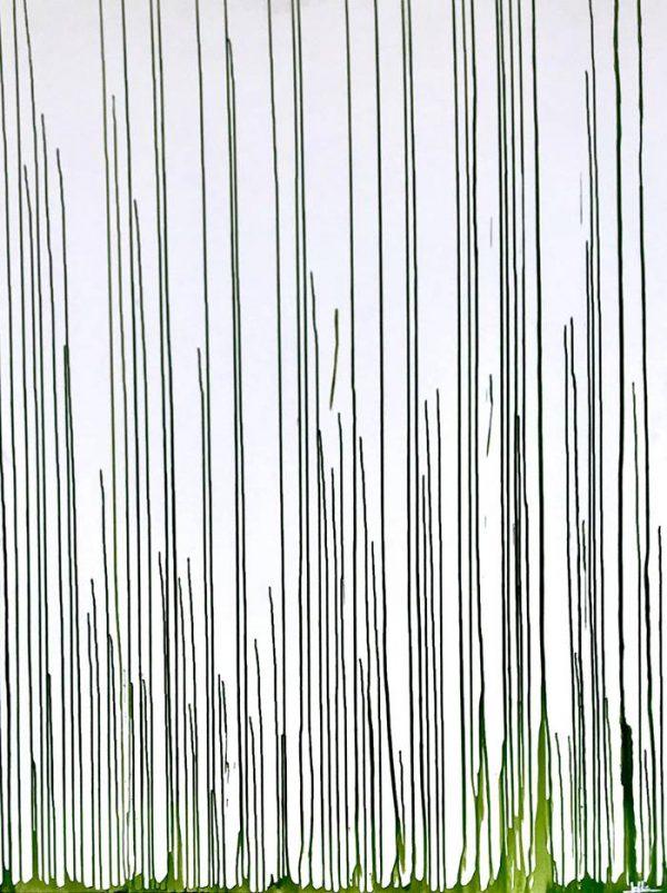 Growth, Acrylic on 3D canvas, 120 x 160 cm