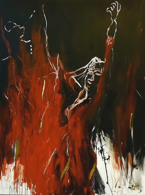 Acryl on canvas, 120 x 180 cm