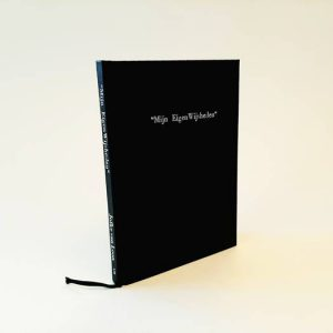Hand bound booklet of quotes of Jofke circa 2013